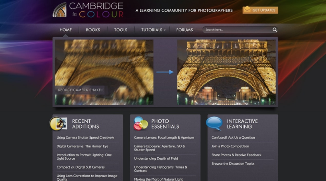 Cambridge In Colour Photography Courses