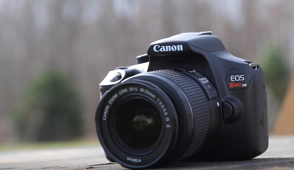 Canon EOS Rebel T6 Digital SLR Camera with 18-55mm EF-S f/3.5-5.6 IS II Lens Review
