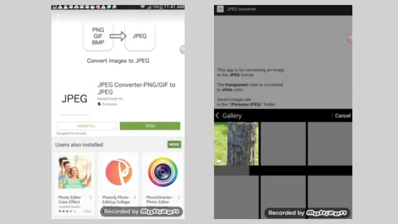 convert raw to jpeg iphone