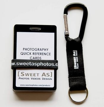 Sweet as Photos - Plastic Double-Sided Photography Quick Reference Cards / Cheat Sheets Review