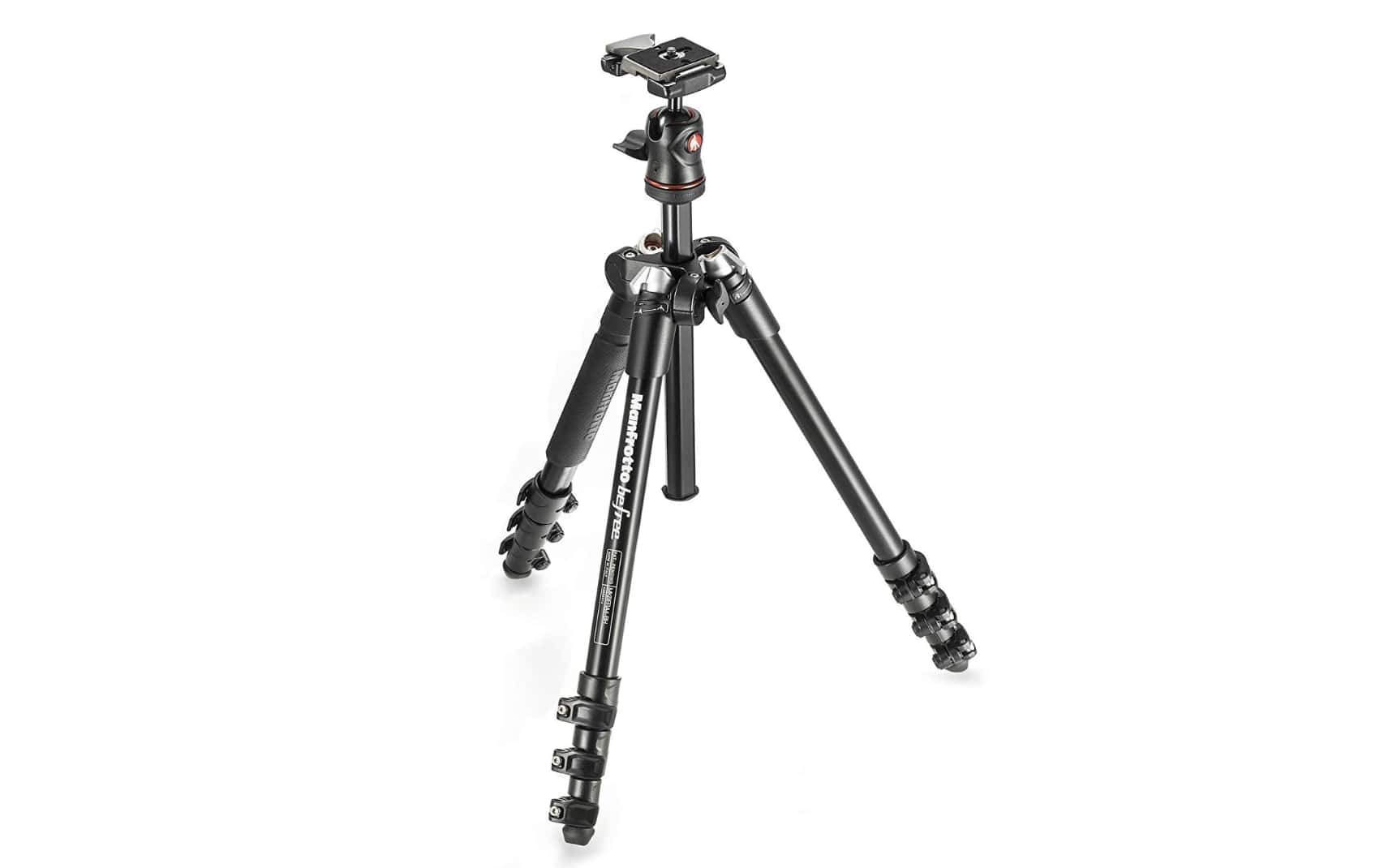 Manfrotto MKBFRA4-BH BeFree Compact Tripod Review canon EOS DSLR