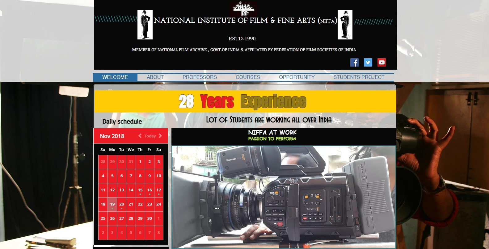National Institute of Film and Fine Arts