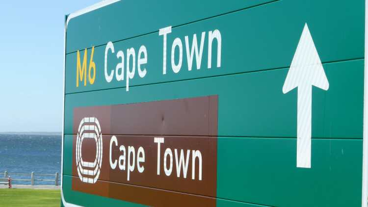 Cape Town Sign, South Africa