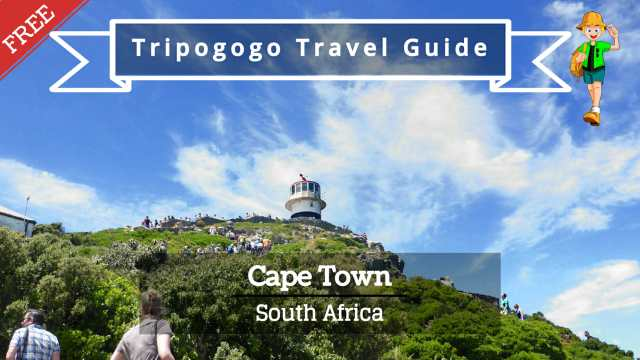 Cape Town, South Africa Free PDF Travel Guide Book