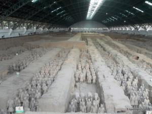 Despite their large numbers, there is just something about the Terracotta Warriors that doesn't excite.