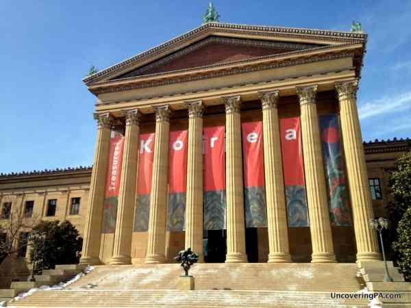 Treasures of Korea at the Philadelphia Museum of Art in Philadelphia, Pennsylvania.