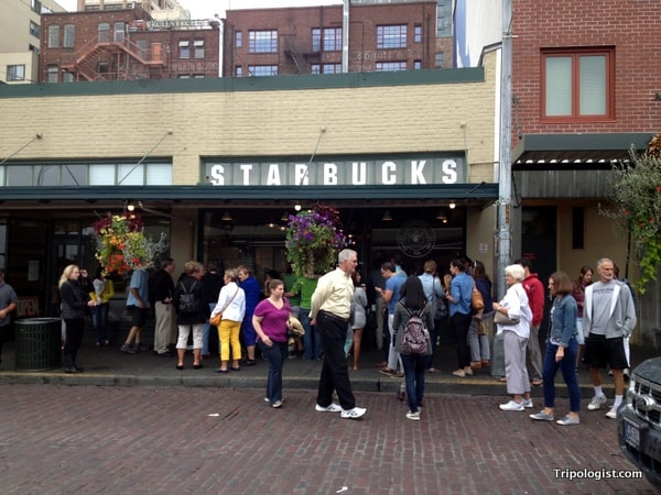 A visit to the very first Starbucks is a must when in Seattle.
