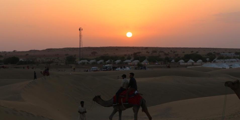 Sand Dunes, Jaisalmer, Rajasthan
