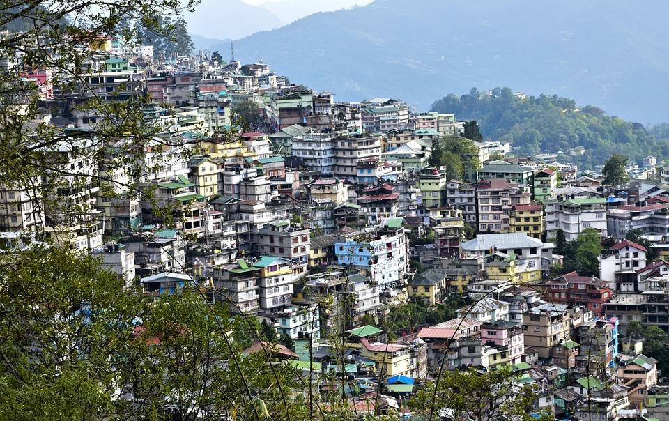 Gangtok, Sikkim New Year in India