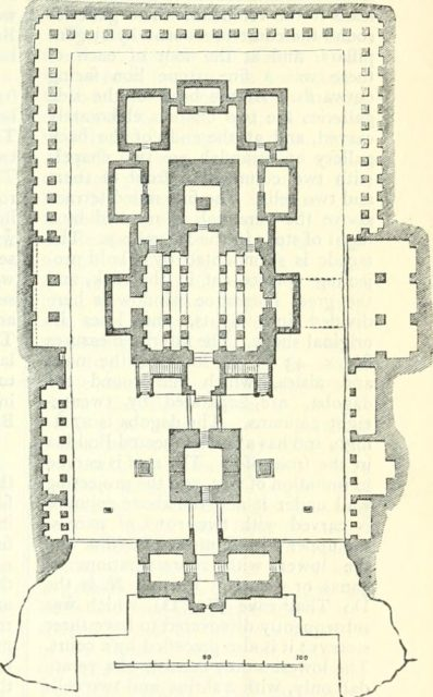 Ground Plan of Kailasa Temple