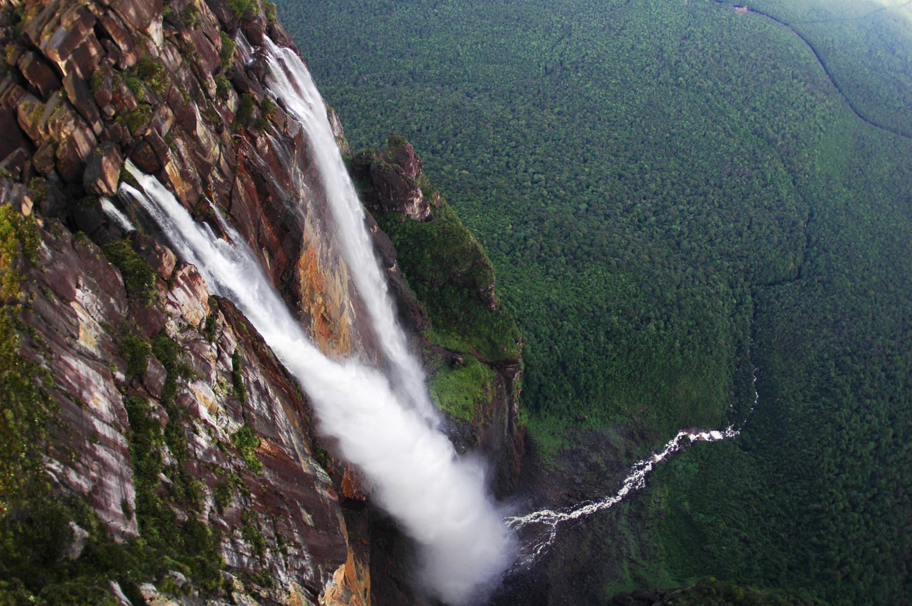Angel Falls, Venezuela highest waterfall in the world