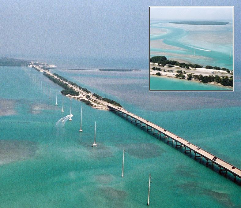 Key Largo to Key West Florida