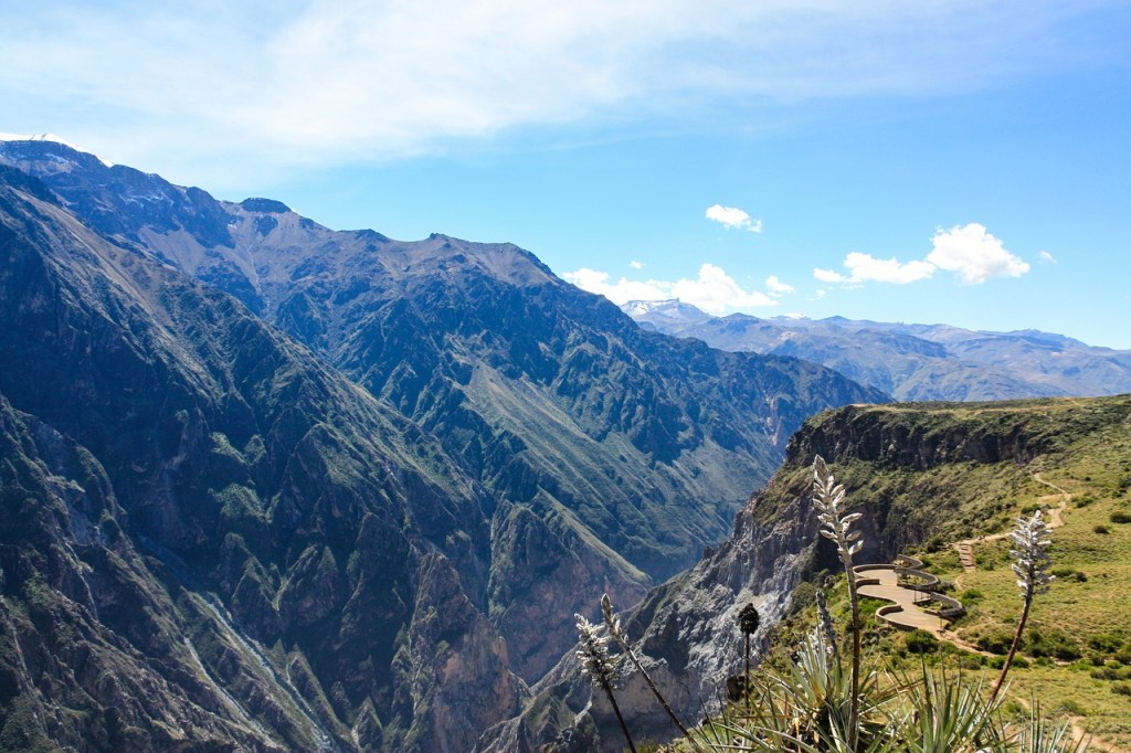 Colca Canyon, Peru largest canyon in the world
