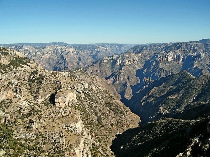 Copper Canyon, Mexico : Largest Canyons in the world