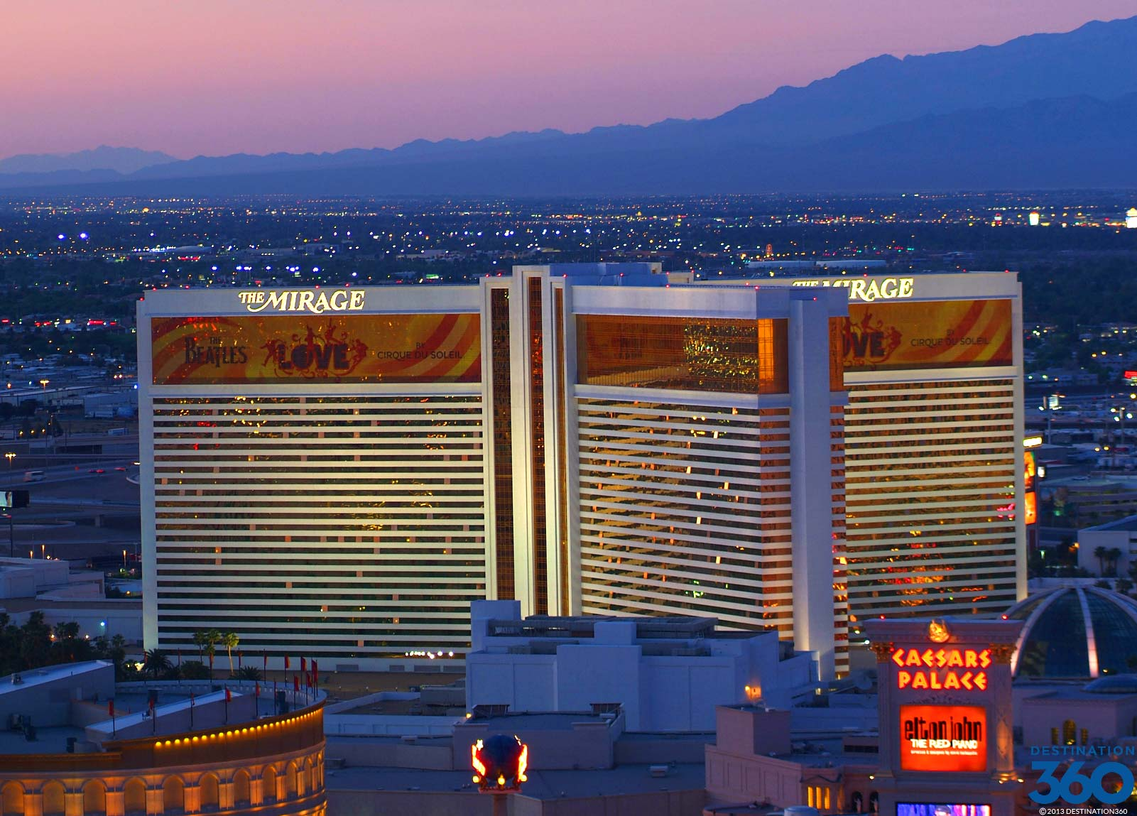 The Mirage, Nevada biggest hotels in the world