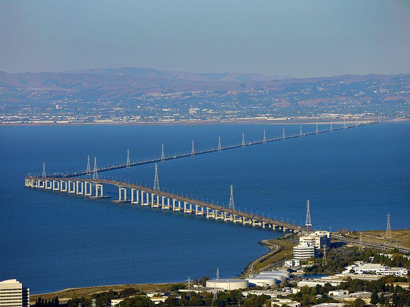 San Mateo–Hayward Bridge, California