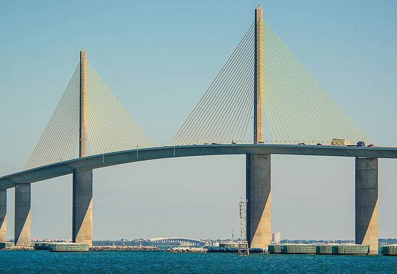 Sunshine Skyway Bridge, Florida longest bridges in usa