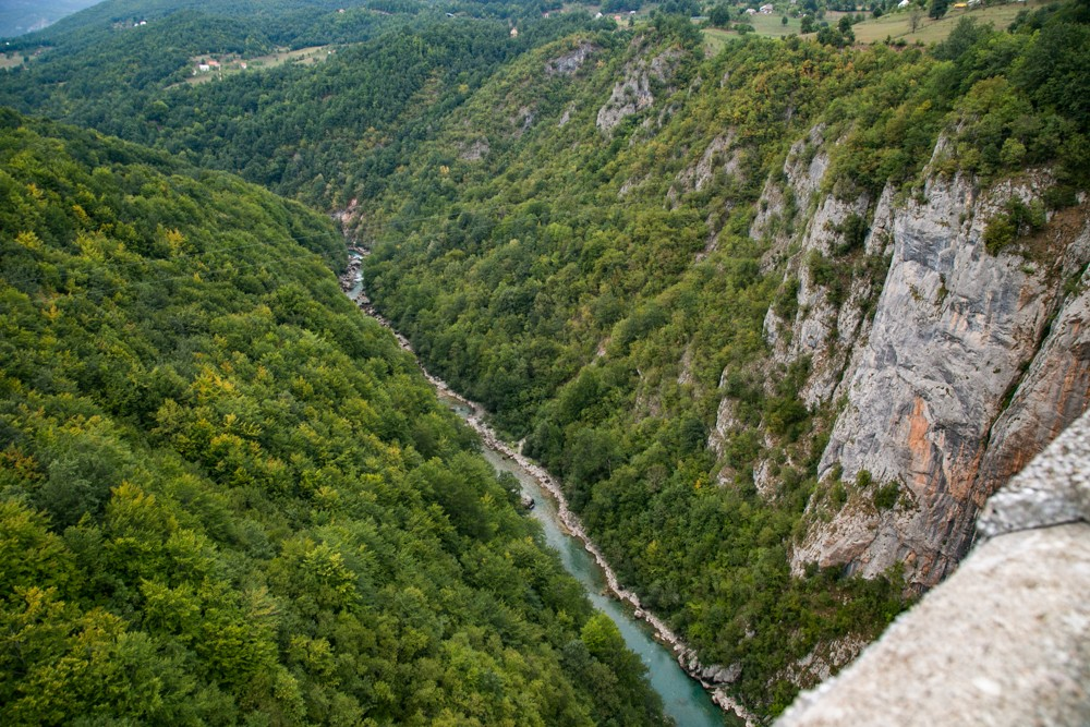 Tara River Canyon, Montenegro largest canyon in the world