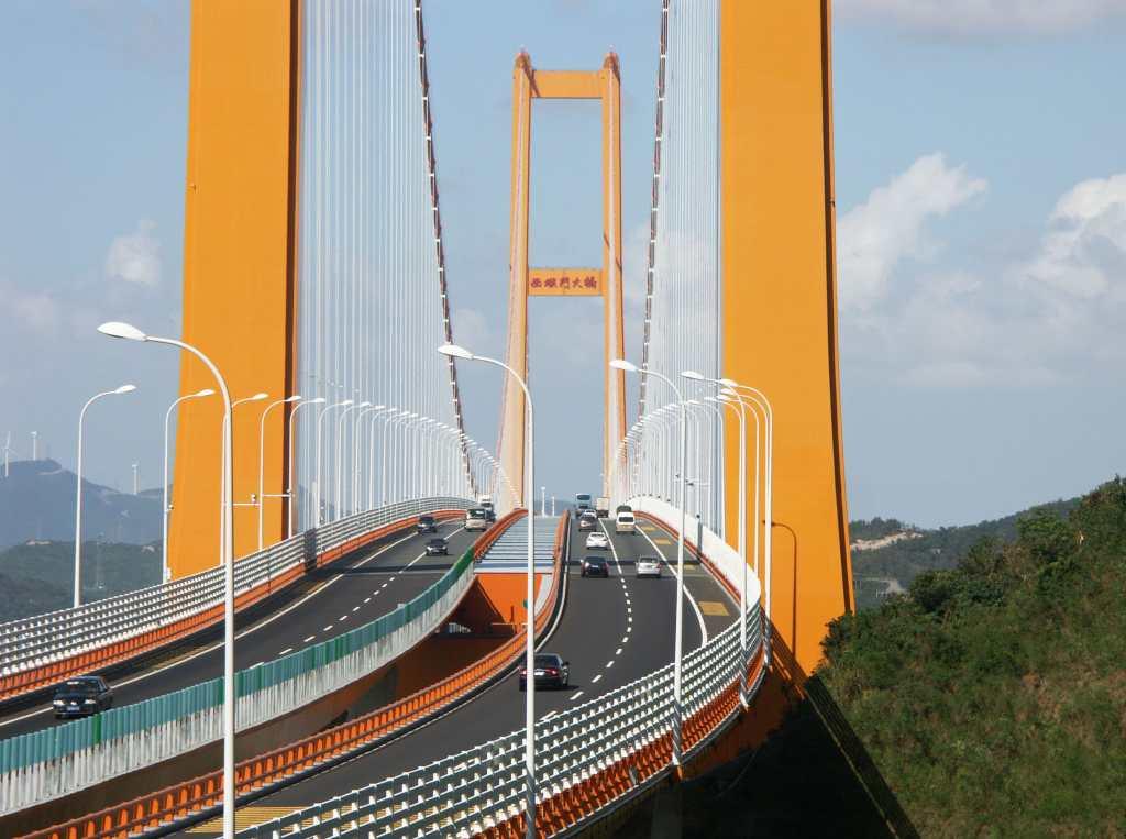 Xihoumen Bridge, Zhoushan, China