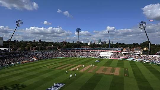 Edgbaston, Birmingham. Capacity: 25,000 : Largest Cricket Grounds In the World
