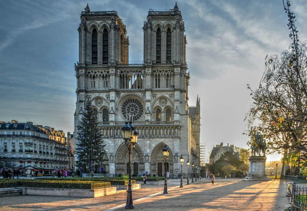 Popular churchus in europe: Notre Dame