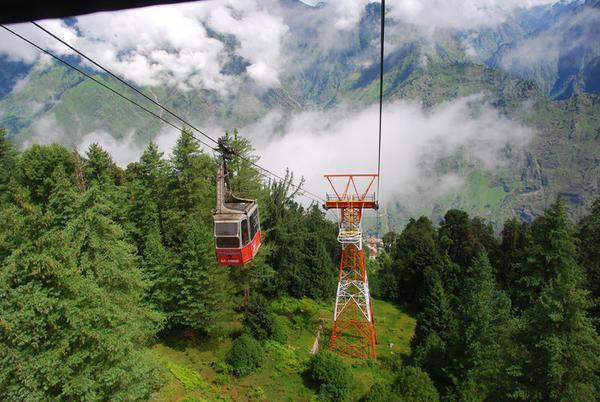 Auli Cable Car, Uttarakhand