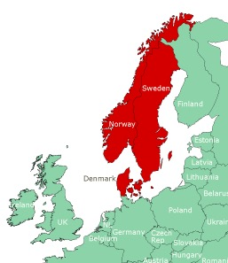Scandinavian countries