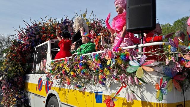 Bloemencorso (Netherlands and Belgium) flower festivals