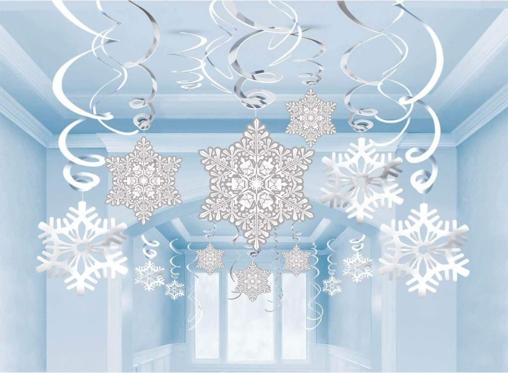 Christmas Cardstock Snowflakes