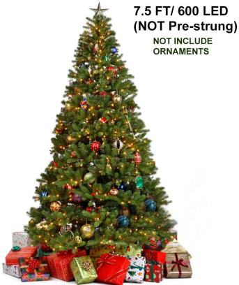 Best Artificial Christmas Trees  Juegoal 7.5 Foot Christmas tree
