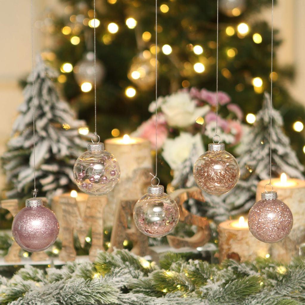 Sea Team shatterproof Christmas balls, Outdoor Christmas Tree Decorations