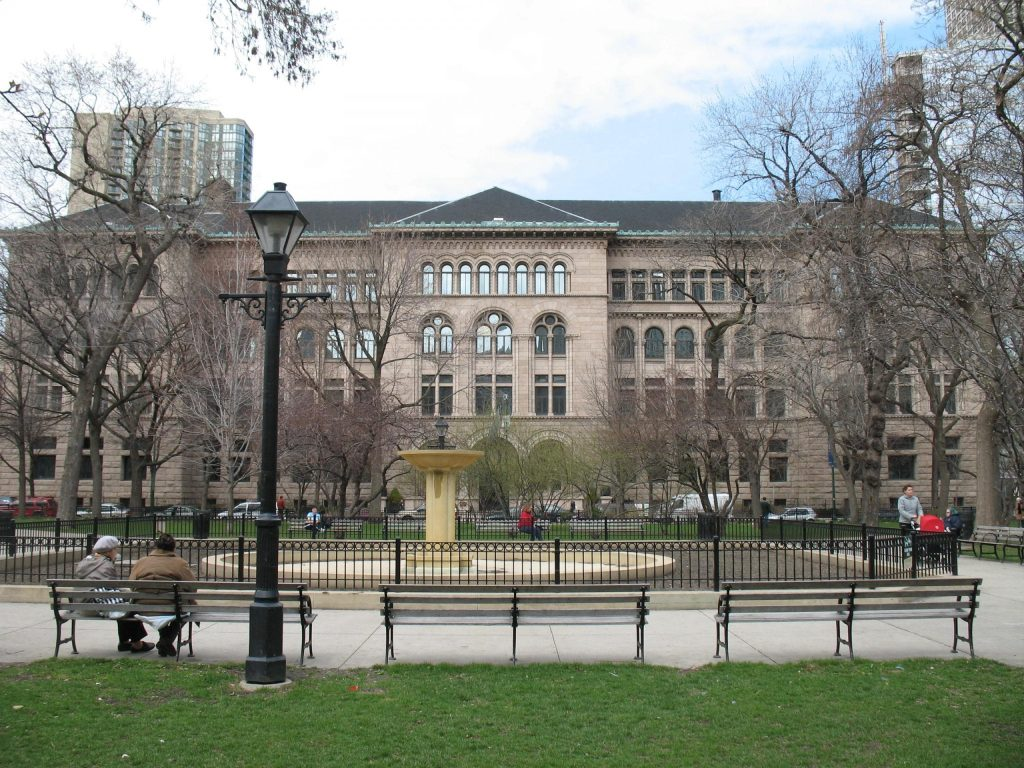 The Newberry Public Libraries In Chicago