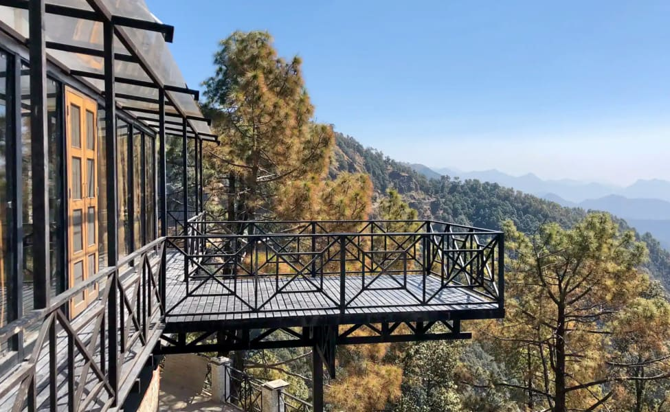 Work From Mountains in Uttrakhand:  Mussoorie