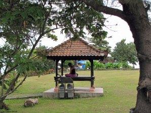 Meditating - Tanah Lot