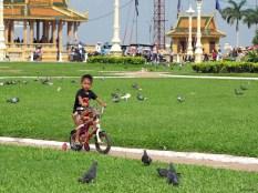 Child in Phnom Penh, Cambodia