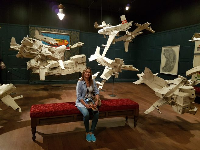MONA Museum - Paper planes on steroids