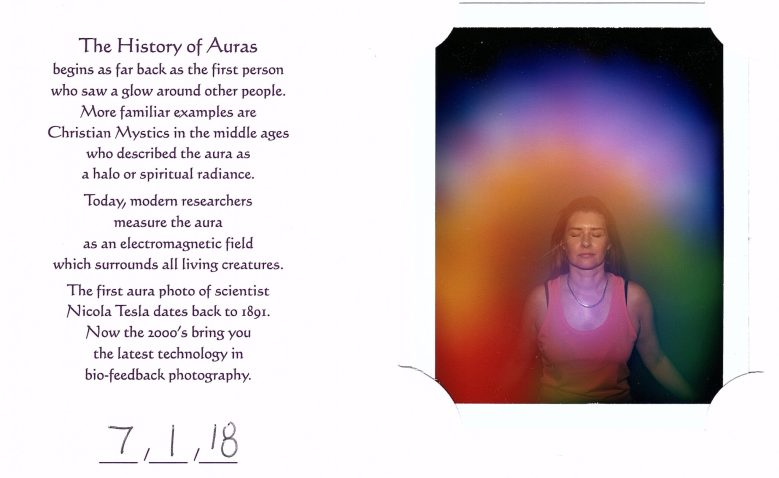 Danae's aura photo