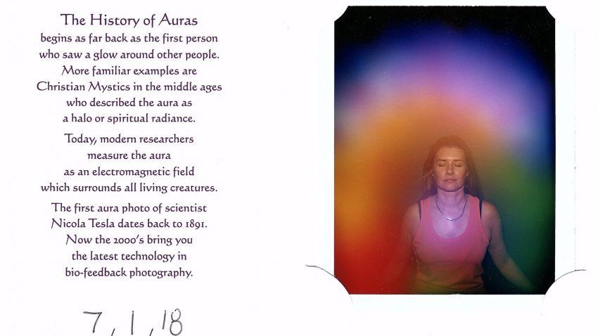 Hobart Psychic Expo Review - Danae's aura photo