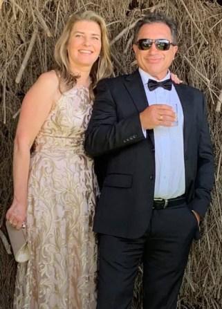 Danae and Jim at Marnong Estate, Mickleham, Victoria March 2019