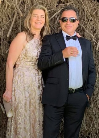 Danae and Jim at Marnong Estate, Mickleham, Victoria March 2019