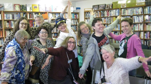 Trip Over with Danae blog launch at Mentone Public Library