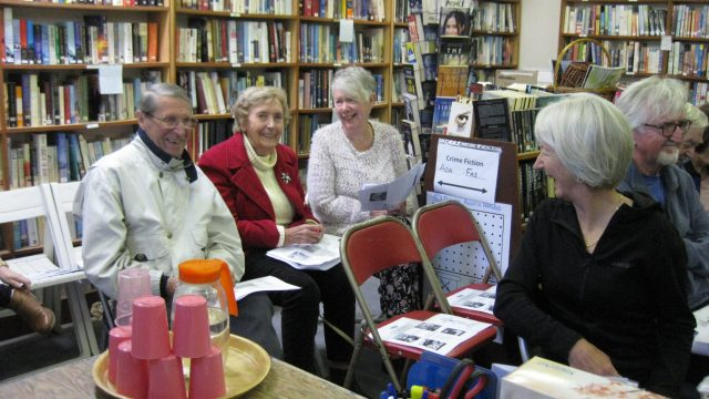 Mentone Public Library supporters voting in the blog polls