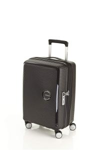 American Tourister Black Carry On Luggage Front