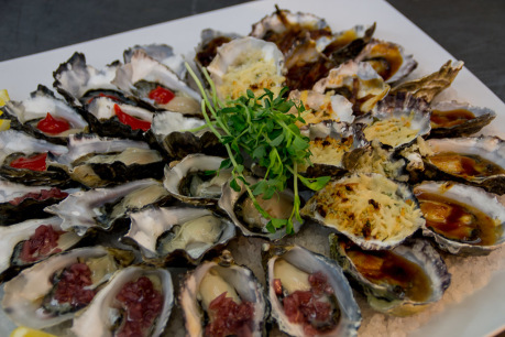 Barilla Bay Shucked Oyster Tasting Platter