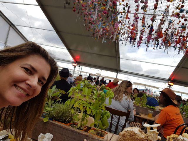 Danae at Taste of Tasmania festival