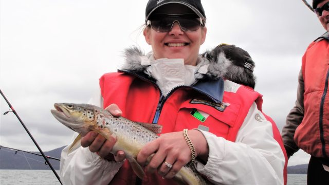 Danae's trout, Miena Tasmania