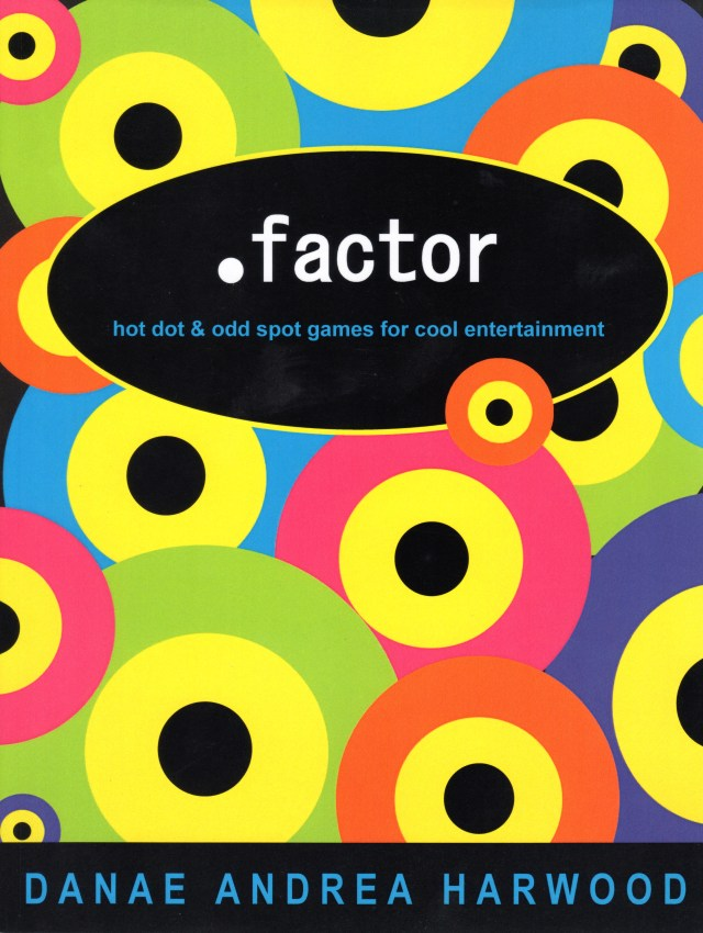 Dot Factor Travel Games Book - front cover