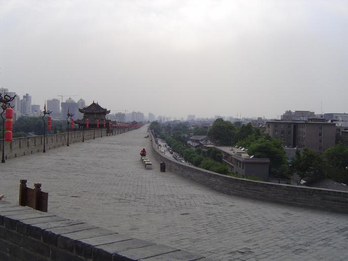 Historische Stadtmauer von Xi´an
