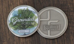 Tripp Atkinson Challenge Coin Sugar Hill Church