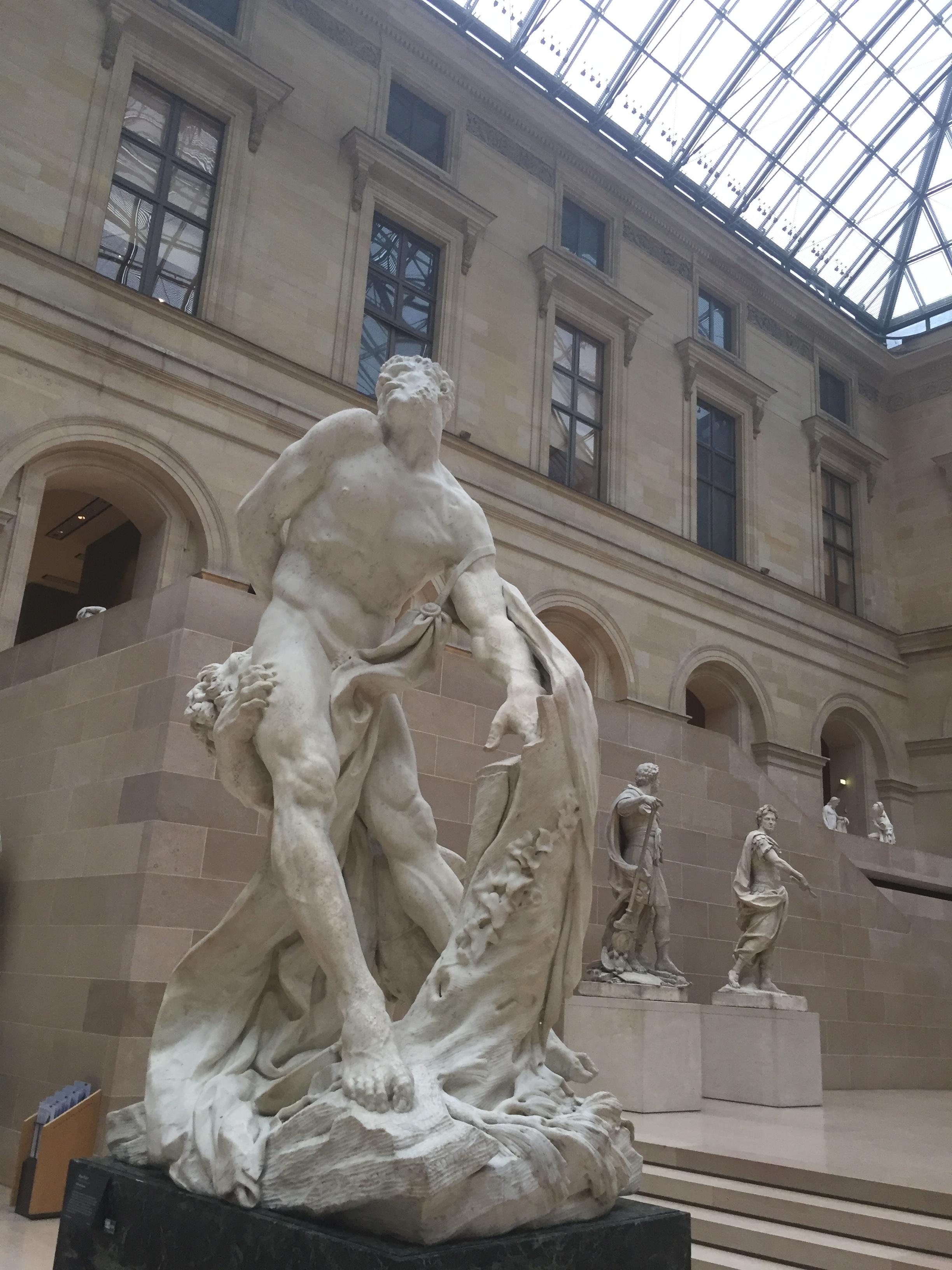 Louvre In Sculptures Trippinbox